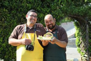 Art Rodriguez and Stephen Chavez of Latino Foodie